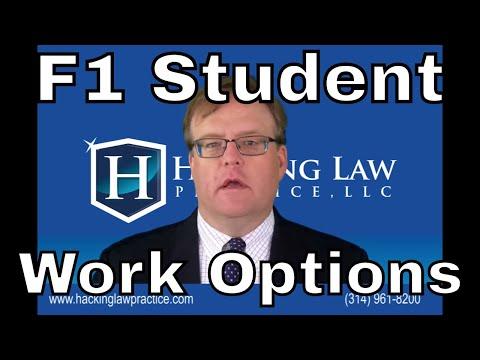 F1 Student Work Options