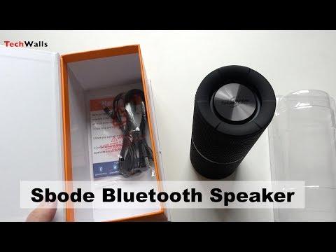 Sbode Bluetooth Speaker Unboxing & Sound Test