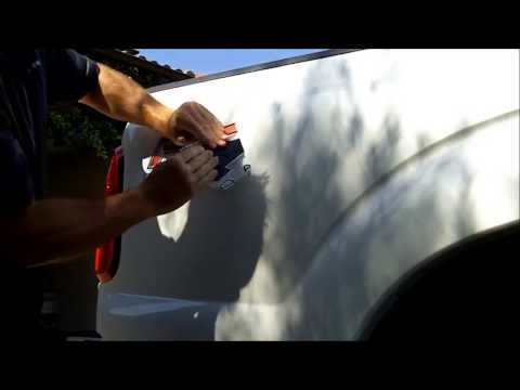 How to Remove Decal from Ford Super Duty truck