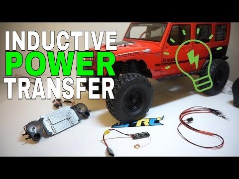 How To: RC Wireless Lighting (Inductive Power Transfer) - JPRC Axial SCX10 II 2017 Jeep JK Upgrade