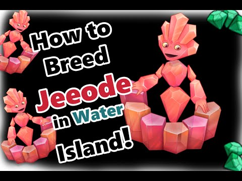 My Singing Monsters How To Breed Jeeode in Water Island (and SOUND!)