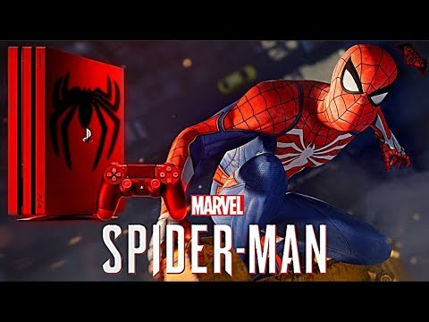 Spider-Man PS4 - Will We Get A Custom PS4 Pro?