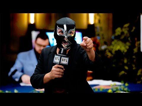 NFG: World Wide Wrestling Grudge Match -- Jack Slammer vs. Ejeckt   International Tabletop Day 2018