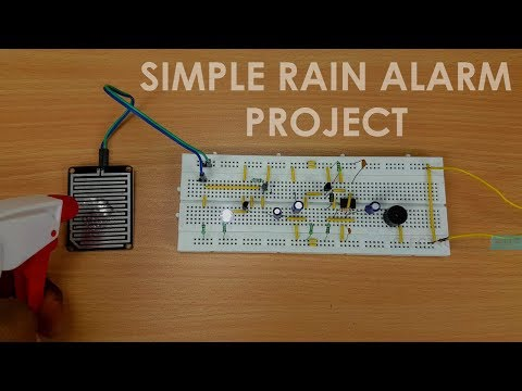 How to make a Rain Alarm Project?