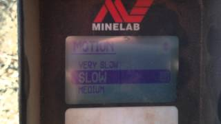 minelab GPX 5000 settings for beginers
