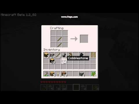 Minecraft How to make a Stone axe