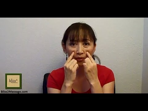 Acupressure points for nasal congestion - Massage Monday #160