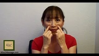 Acupressure Points For Nasal Congestion Massage Monday 160