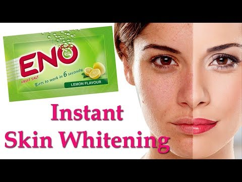 Skin Whitening Treatment Naturally / Instant Fairness Treatment With ENO