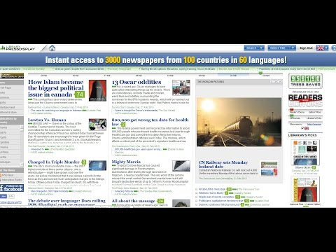 Access 3000 Newspapers online for free with your library card