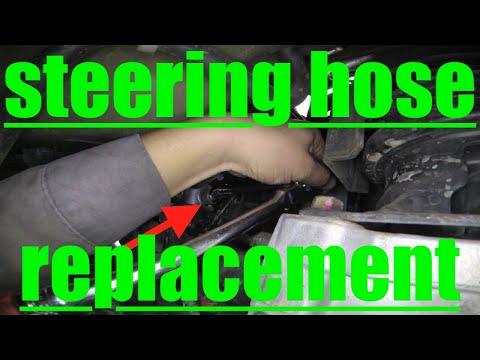 TRUE Diagnose Replace Bleed Power Steering Hose Honda Odyssey √ Fix It Angel