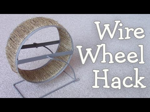 Wire Mesh Wheel Hack by Hammy Time