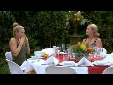 Ashley & Charlie's Final Feast Bush Tucker Trial on I'm a Celebrity Get Me Out of Here 2012