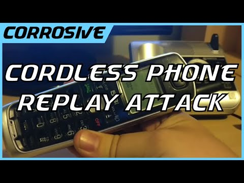 vTech 5.8GHz Phone Paged by HackRF