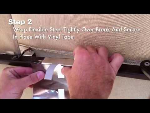 How to Repair a Broken Patio Umbrella Rib Repair Instructions for Wood