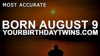 Born On August 9 | Birthday | #aboutyourbirthday | Sample