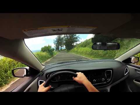 Driving in Molokai, Hawaii