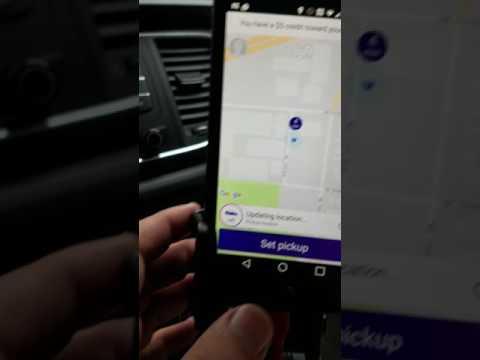 Lyft Change Pickup Location
