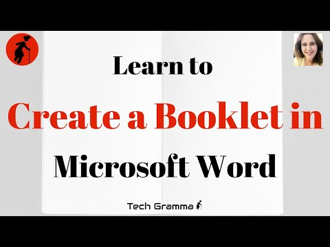 Create a Booklet in Microsoft Word