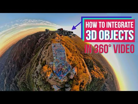 How to Integrate 3D Objects onto tracked 360° Video with Element 3D