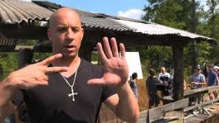 Fast & Furious 7 -  Backstage with Vin Diesel