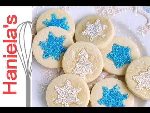 How To Apply Sanding Sugar and Nonpareils onto Sugar Cookies, Christmas Decorating
