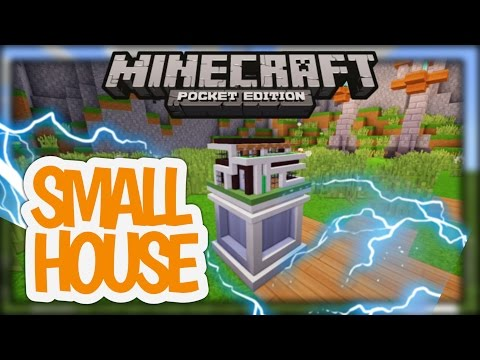 How to make a small house using command block - minecraft pe (no mods)