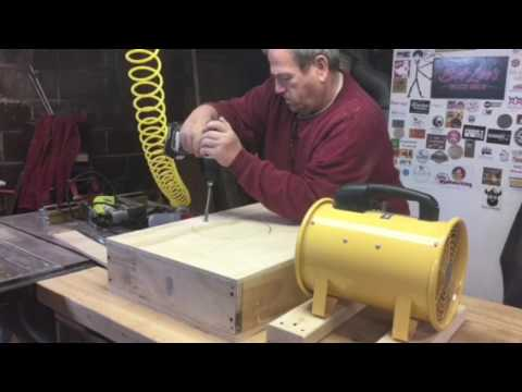 My shop air cleaner by Bob Lee's Woodshop