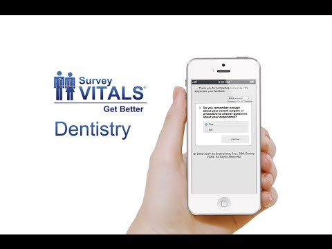 SurveyVitals Dentistry Overview