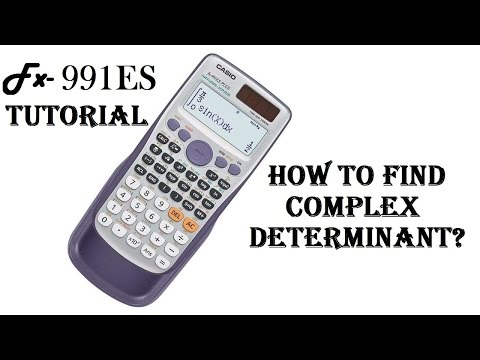 how to solve complex no determinant