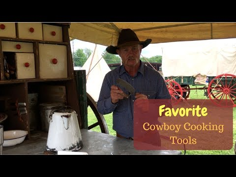 Favorite Cowboy Cooking Tools