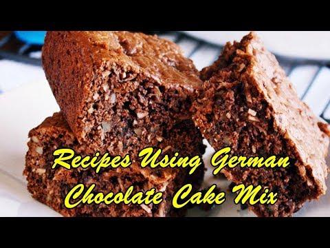 Recipes Using German Chocolate Cake Mix