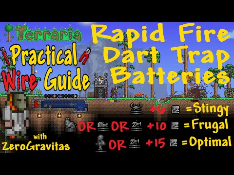 Practical Rapid Fire Dart Trap Battery Guide - Goblins in 40s! Farms, Grinds...