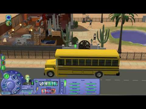 Let's Play The Sims 2 Scholarship Challenge Part 21 (Abduction and Skills Part 3 of 3)