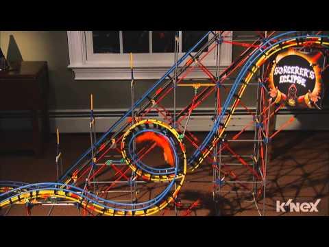 Sorcerer's Eclipse Roller Coaster™ Building Set by K'NEX