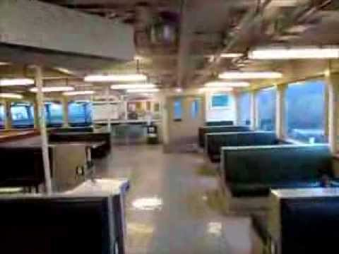 Onboard the Washington State Ferry M/V Evergreen State