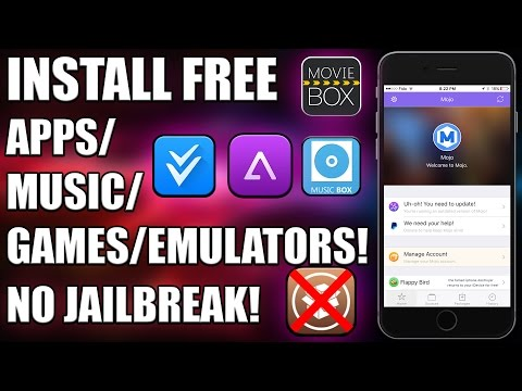 How to Install FREE Apps/Emulators/Movies/Music on iOS 9.3.1/9.3.2 (NO JAILBREAK)