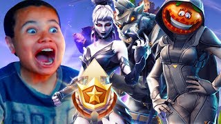 SURPRISING 10 YEAR OLD BROTHER WITH Fortnite SEASON 6 MAX Battle Pass! *HE FREAKED OUT*