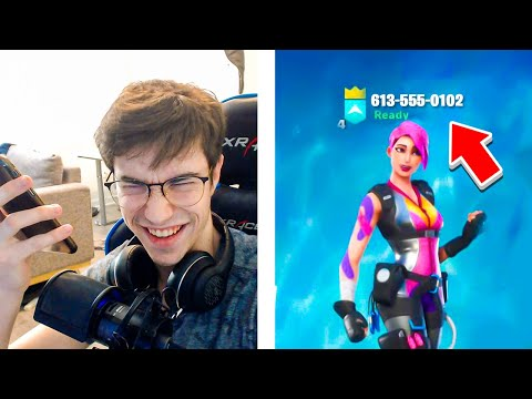 Xxx Mp4 I Put My PHONE NUMBER In My FORTNITE Name And DANCED After EVERY Kill 4 3gp Sex