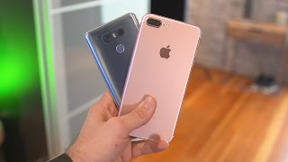 LG G6 vs iPhone 7 Plus! (Camera Comparison)