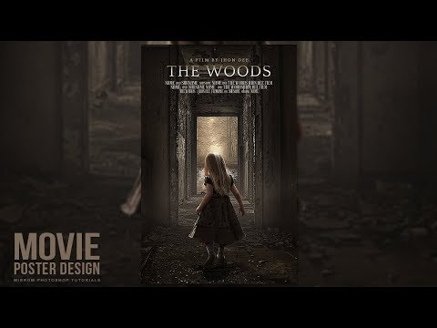 Creating a Movie Poster in Photoshop CC - The Woods