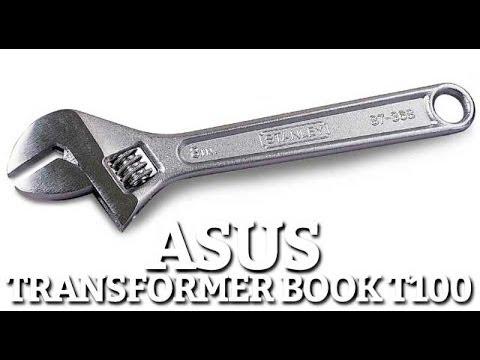 ASUS Transformer Book T100 Reinstallation Usine