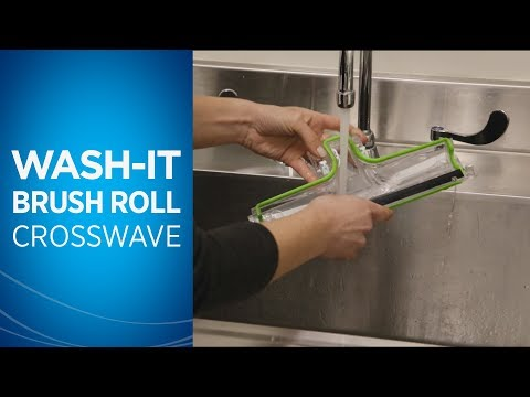 How to Wash the Brush Roll & Chamber on Your CrossWave™