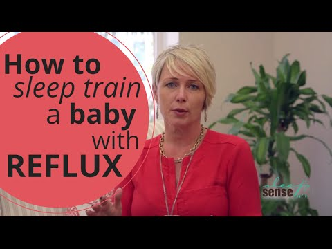 How To Sleep Train A Baby With Reflux - Q&A With Dana
