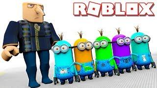 Roblox Adventures - DENIS, ALEX & SUB ARE MINIONS IN ROBLOX! (Minions Adventure Obby)
