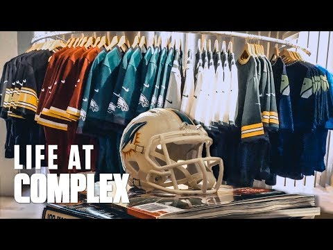 WE MADE OUR OWN NIKE NFL JERSEYS | #LIFEATCOMPLEX
