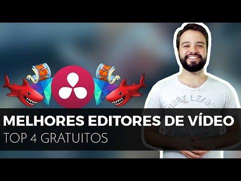 Qual melhor EDITOR DE VÍDEO GRÁTIS PARA PC?? | #4 opções porretas!