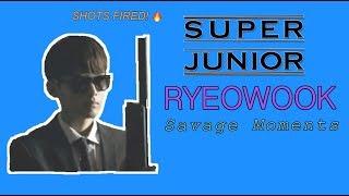 SUPER JUNIOR (슈퍼 주니어) Eternal Maknae Ryeowook (려욱) Savage Moments