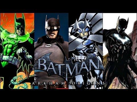 Batman Arkham Origins: More DLC Skins Confirmed!