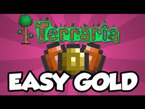 Terraria IOS- How to get a lot of gold coins! (1.2 Update)